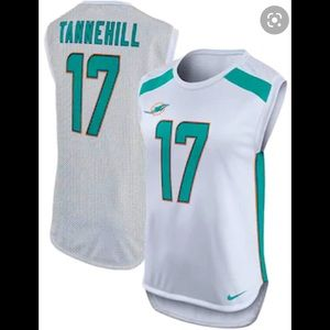 NWT Nike NFL Sleeveless Miami Jersey Women's Small